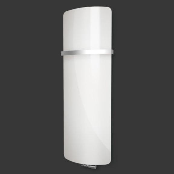 ISAN Variant Glass Pure White sklenený radiátor