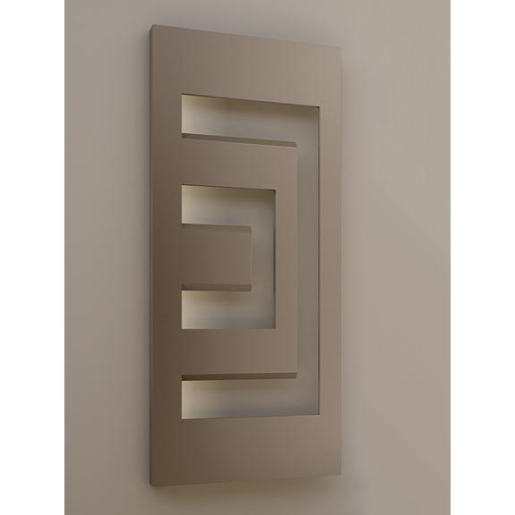 IRSAP Dedalo dizajnový radiátor geometrický tvar