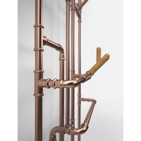 TERMA Pajak dizajnový radiátor detail