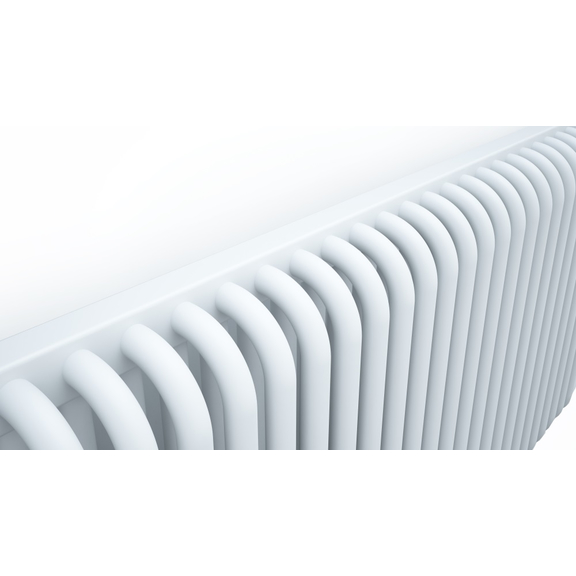 TERMA Delfin dizajnový radiátor 545x1050 farba Soft White