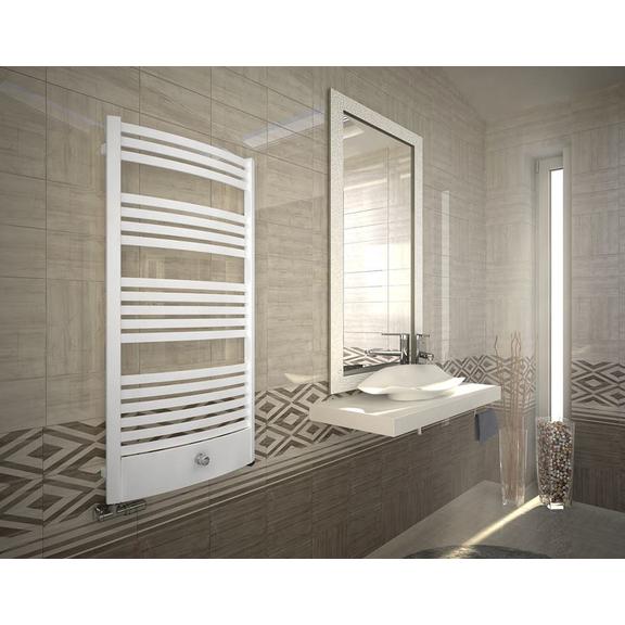 TERMA Dexter Pro ONE kúpeľňový radiátor RAL9016 - v interiéri