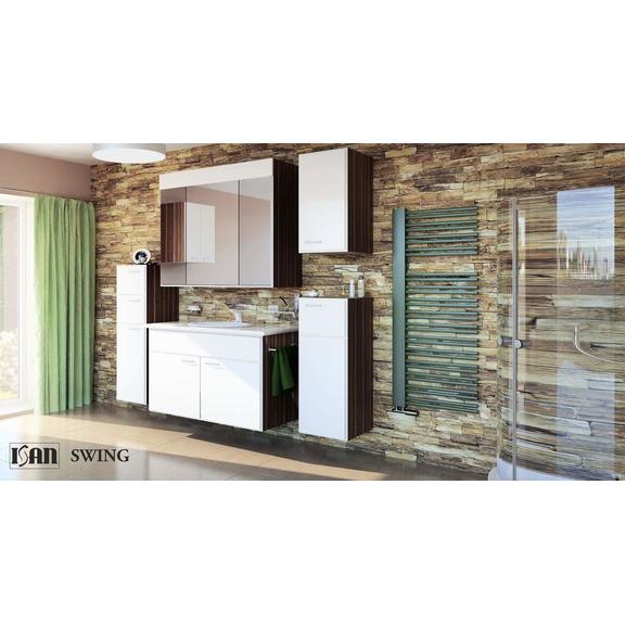 ISAN Swing kúpeľňový radiátor interiér