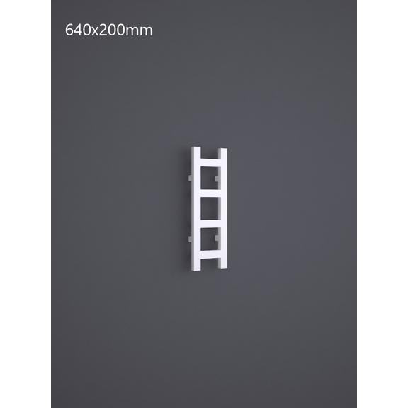 TERMA Easy vertikálny dizajnový radiátor RAL9016 - 640x200