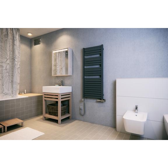 TERMA Mantis dizajnový radiátor 1260x540 farba Modern Grey - inšpirácia
