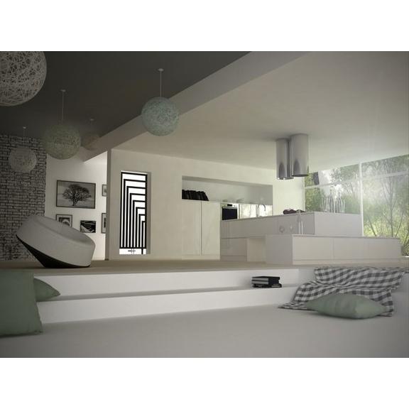 TERMA Angus DW dizajnový radiátor RAL 9016 1300x440