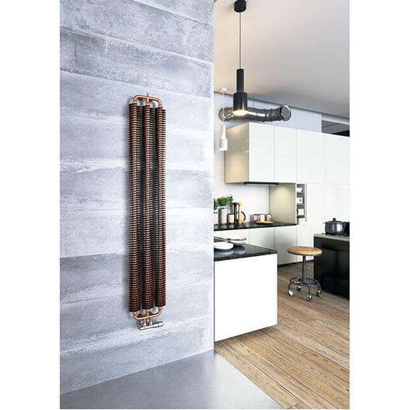TERMA Ribbon V retro radiátor 1720x290 farba Copper - inšpirácie