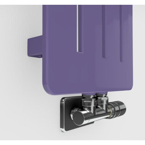 TERMA Aero V dizajnový radiátor - rôzne farebné prevedenia RAL4005 detail