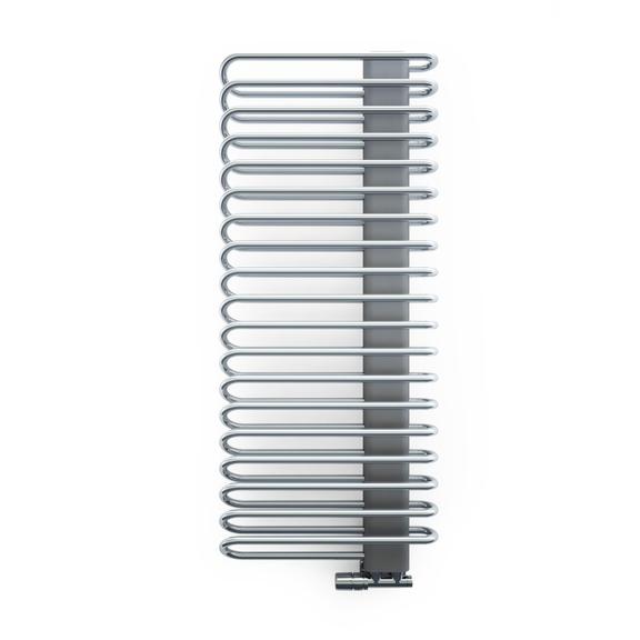 TERMA Michelle dizajnový radiátor 1200x500 Chrome a Graphite