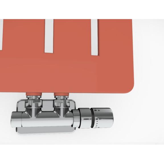 TERMA Aero V dizajnový radiátor - rôzne farebné prevedenia RAL3022 detail