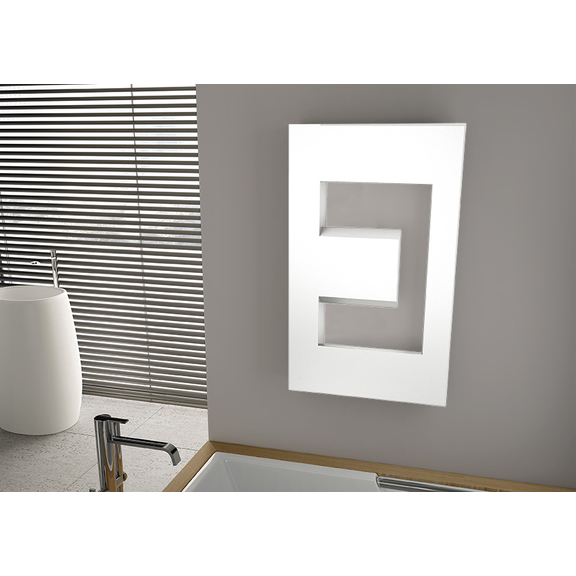 IRSAP Dedalo dizajnový radiátor 900x498 farebné prevedenia Special - Bianco