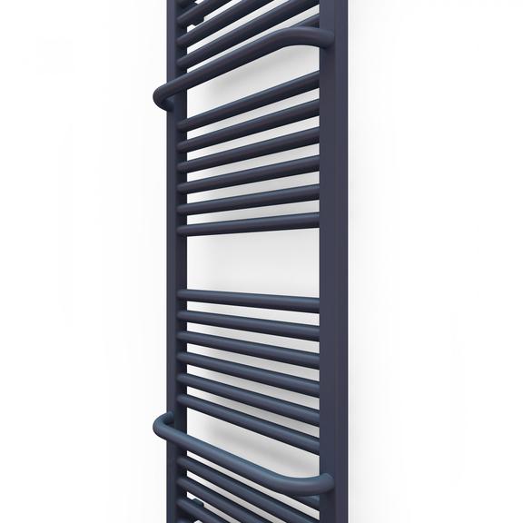 TERMA Lima kúpeľňový radiátor 1140x400 farba Blueberry detail