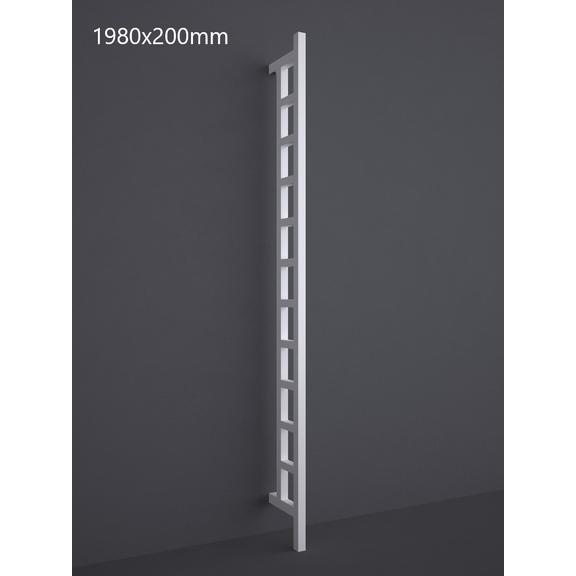TERMA Easy DW vertikálny radiátor 1980x200 RAL 9016