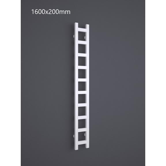 TERMA Easy One vertikálny radiátor 1600x200 RAL 9016