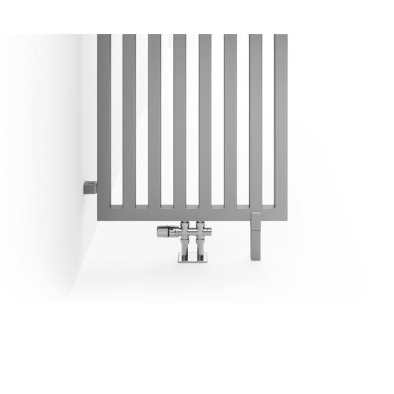 TERMA Angus DW dizajnový radiátor 1450x520 farba Chrome Effect