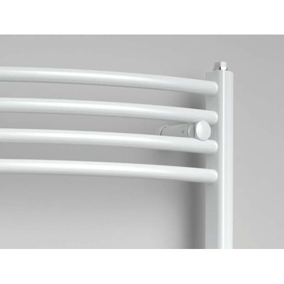 ISAN Spira Radius kúpeľňový radiátor detail