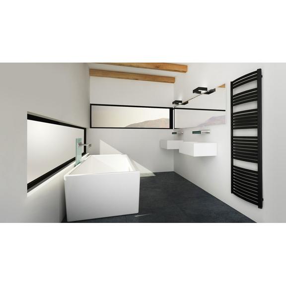 TERMA Dexter kúpeľňový radiátor 860x500 RAL 9016
