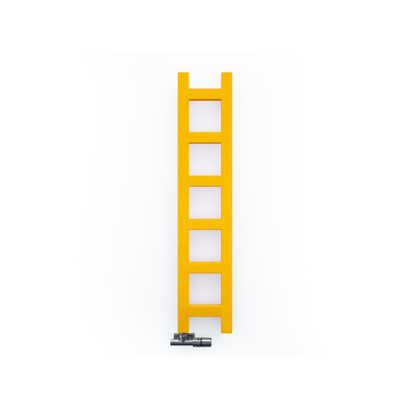 TERMA Easy vertikálny radiátor 960x200 RAL1028