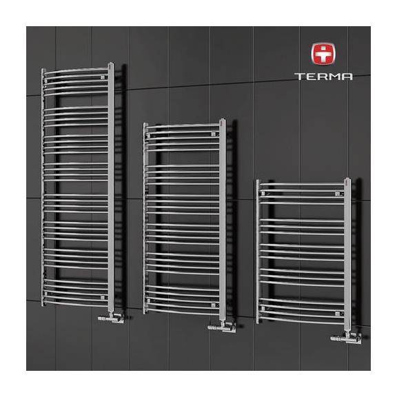 TERMA Domi kúpeľňový radiátor RAL 9016 veľkosť 1479x600