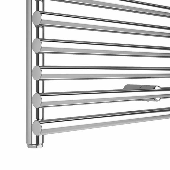 ISAN Ikaria kúpeľňový radiátor chróm - detail