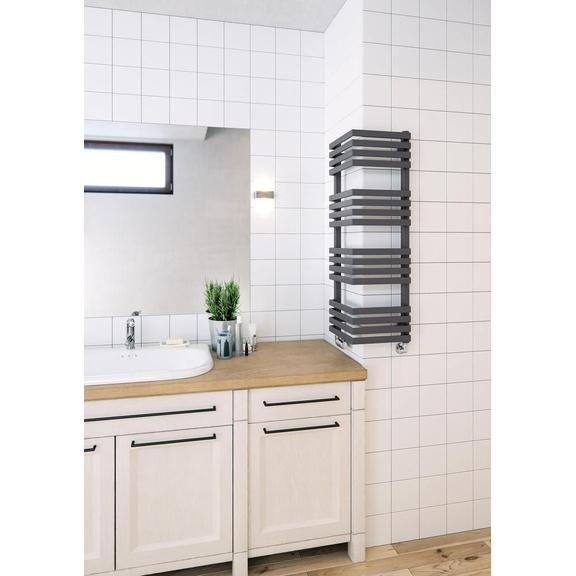 TERMA Outcorner rohový radiátor 1005x300 - moderná kúpeľňa