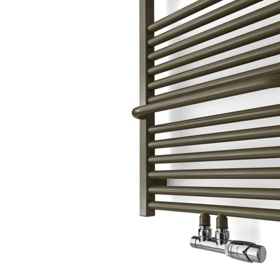 TERMA Lima kúpeľňový radiátor zboku