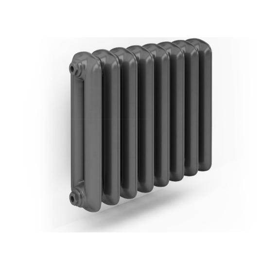 TERMA Plain retro radiátor 560x688 farba Flat Black