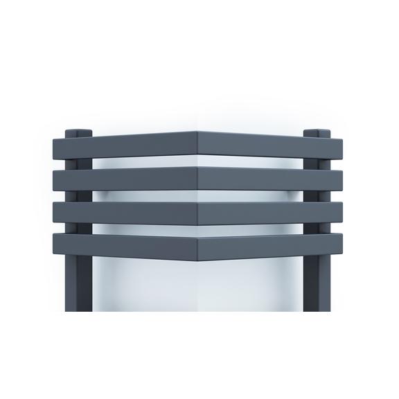 TERMA Outcorner rohový radiátor 1005x300 - Modern Grey - detail