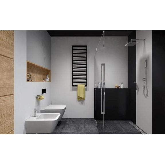 TERMA Zigzag elekrický kúpeľňový radiátor - vykurovanie aj sušenie