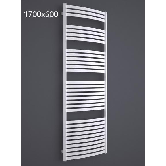 TERMA Dexter kúpeľňový radiátor RAL9016 1700x600
