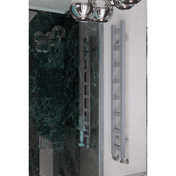 TERMA Easy vertikálny radiátor 1280x200 farba Sparkling Gravel