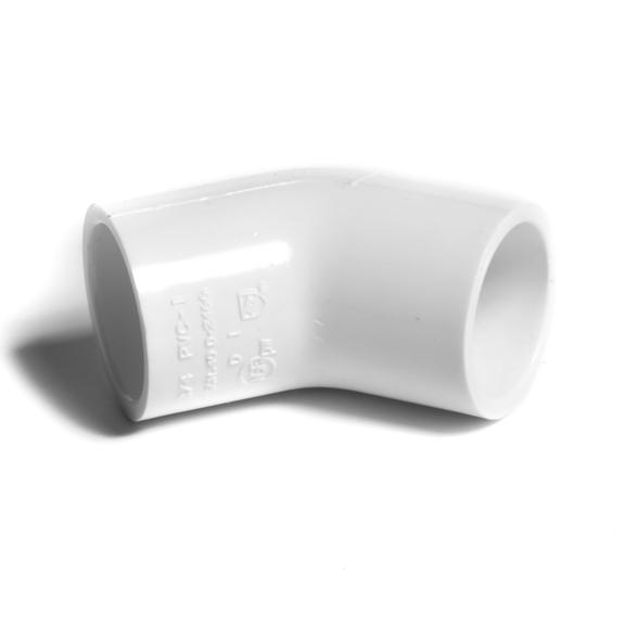 """NIBCO koleno 45° 1"""" PVC-U PN15"""