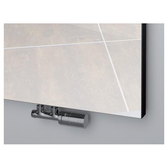 ISAN Variant Mirror radiátor so zrkadlom detail