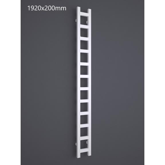 TERMA Easy One vertikálny radiátor 1920x200 RAL 9016