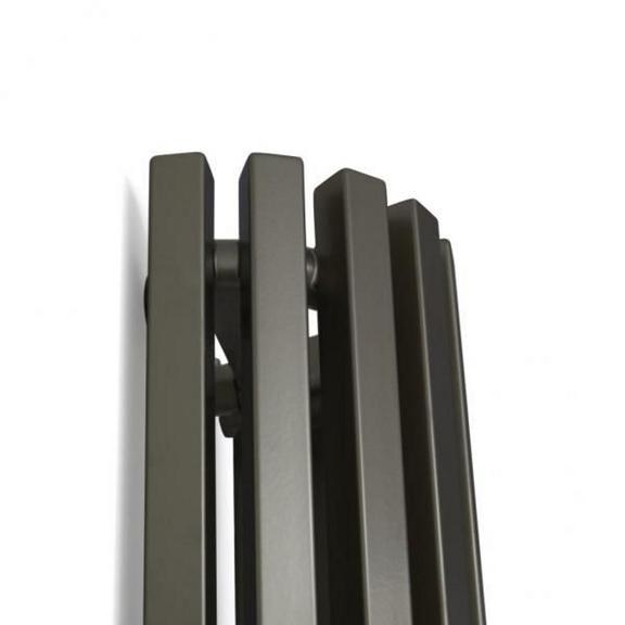 TERMA Triga AN dizajnový radiátor detail4