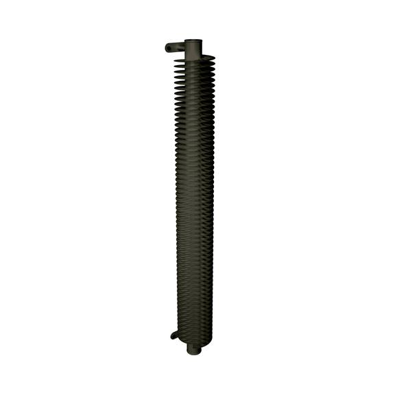 ISAN Spiral RA1 vertikálny radiátor - RAL 7013