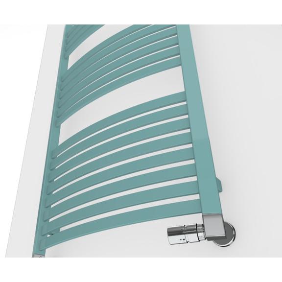 TERMA Dexter kúpeľňový radiátor farebné prevedenia RAL6034