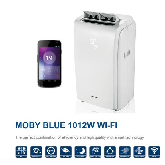 Blaupunkt Moby Blue 1012 WT mobilná klimatizácia - vlastnosti