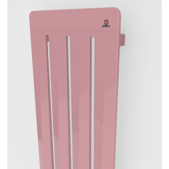 TERMA Aero V dizajnový radiátor - rôzne farebné prevedenia RAL3015 detail