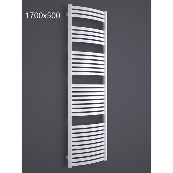TERMA Dexter kúpeľňový radiátor RAL9016 1700x500