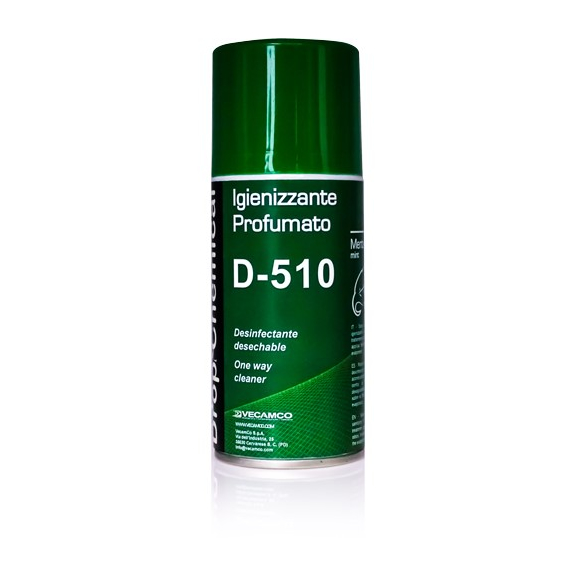 Vecamco D-510 parfumovaný dezinfekčný sprej do klimatizácie Mint