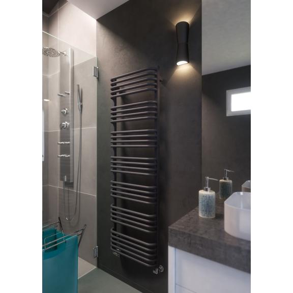 TERMA Alex dizajnový radiátor 1580x500 farba Modern Grey - kúpeľňa