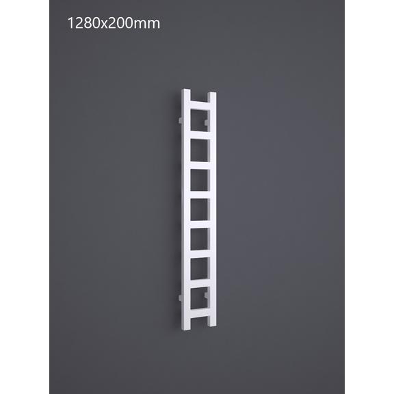 TERMA Easy One vertikálny radiátor 1280x200 RAL 9016