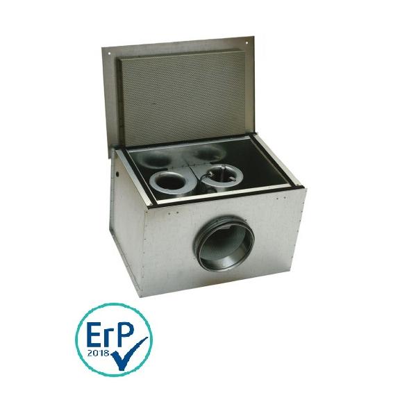 Systemair KVK DUO 125 kruhový ventilátor
