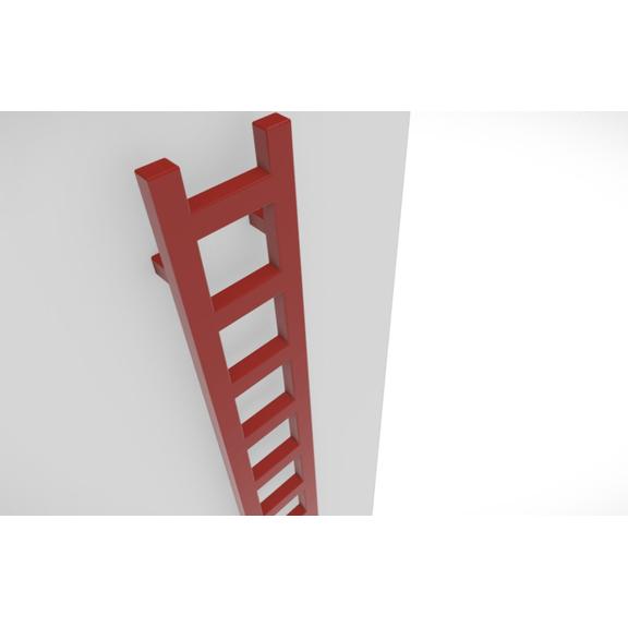 TERMA Easy vertikálny radiátor farebné prevedenia - RAL3000