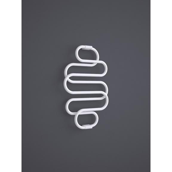 TERMA Perla dizajnový radiátor RAL 9016 960x600