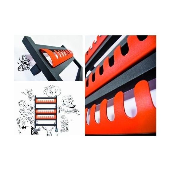 TERMA Simple dizajnový radiátor - háčiky Simple