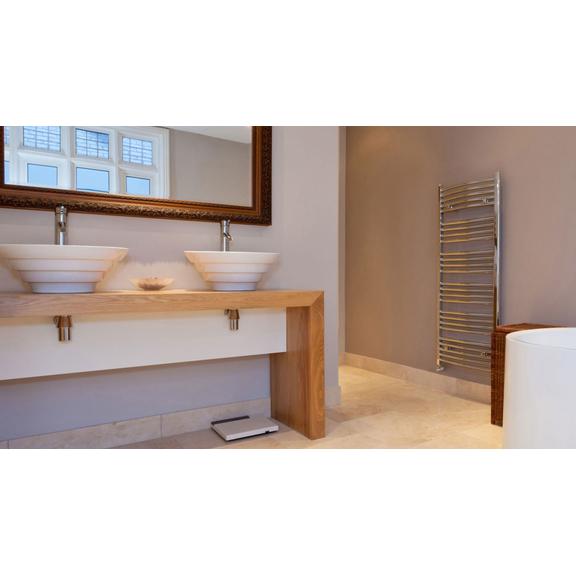 TERMA Domi kúpeľňový radiátor Chróm moderná kúpeľňa