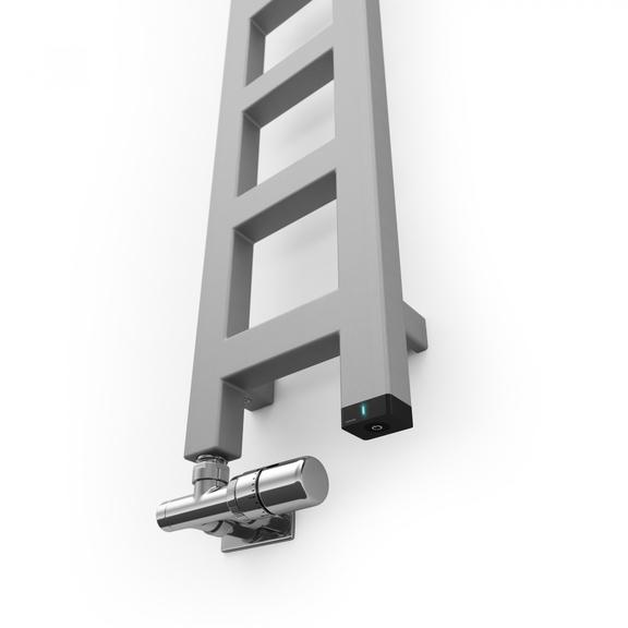 TERMA Easy One vertikálny radiátor 1600x200 farba Winter Sky Detail