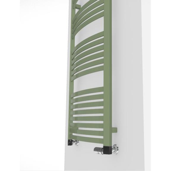 TERMA Dexter kúpeľňový radiátor farebné prevedenia RAL6021