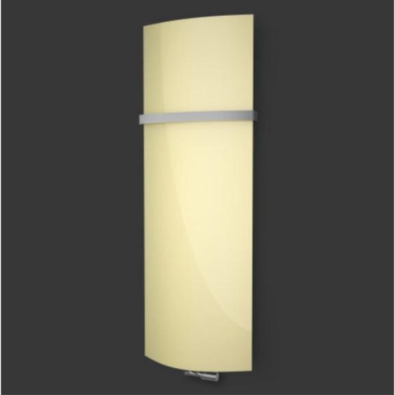 ISAN Variant Glass Pastel Yellow sklenený radiátor